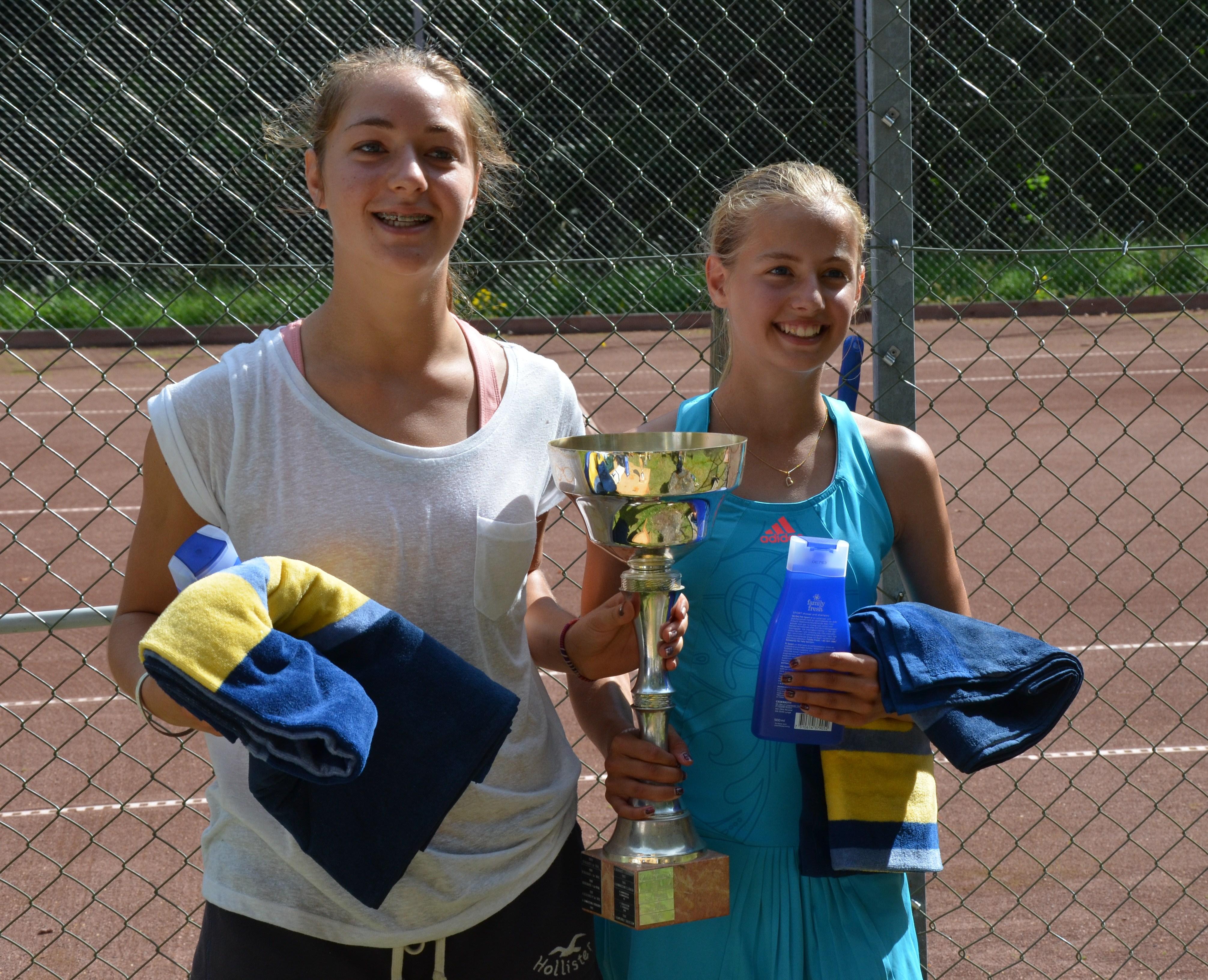 Dubbelsegrarna Victoria och Caroline