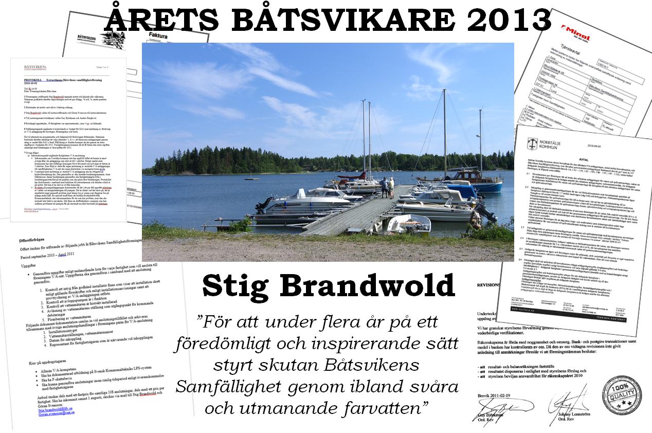 Årets båtsvikare 2013