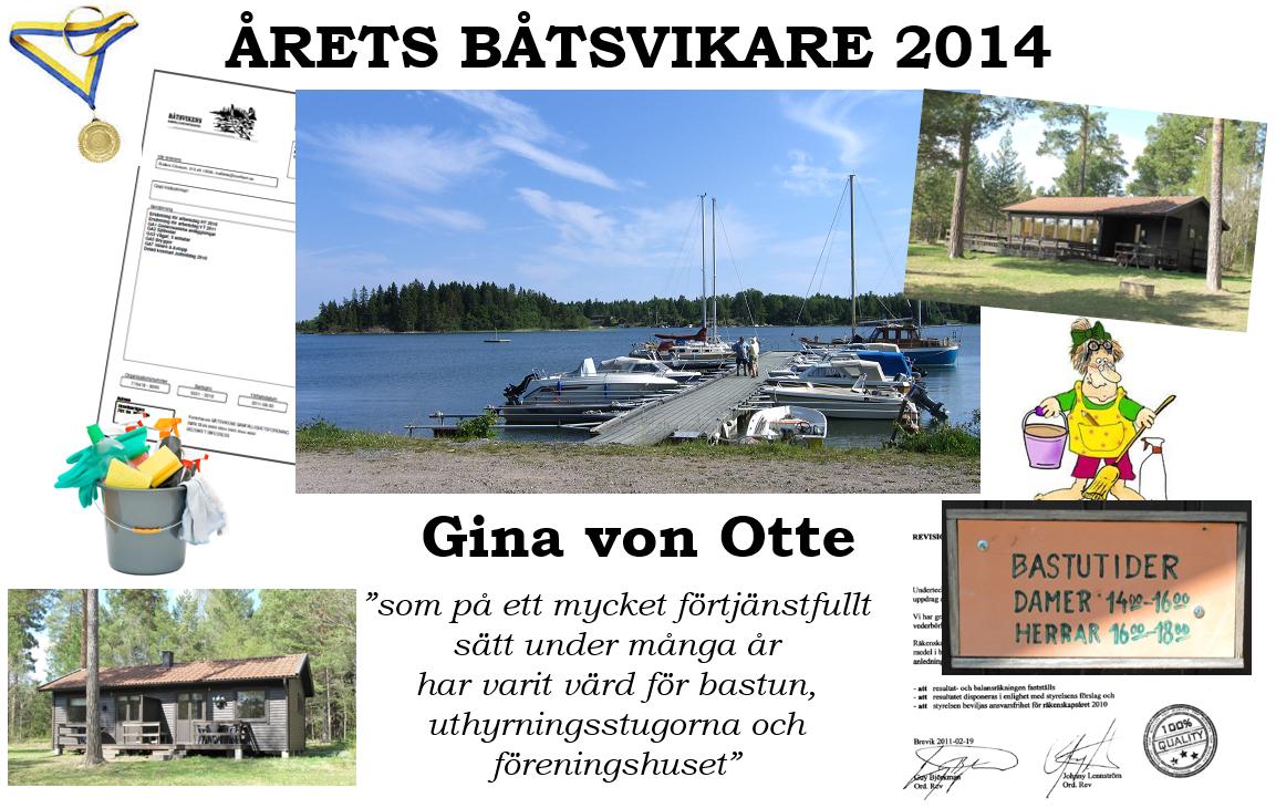 Årets Båtsvikare 2014