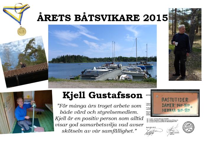 Årets Båtsvikare 2015